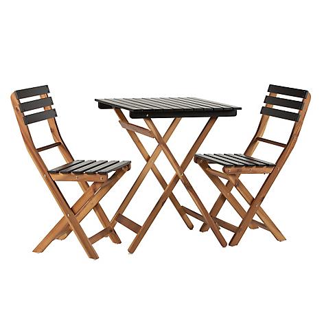 Mica juego comedor terraza 2 sillas split for Juego comedor terraza madera