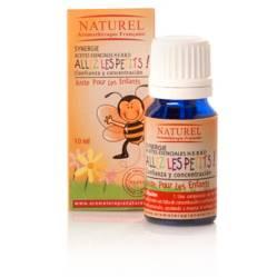 Naturel - Aceite Confianza y Concentración Niños - Sinergia Aromaterapia 100% Puro y Natural