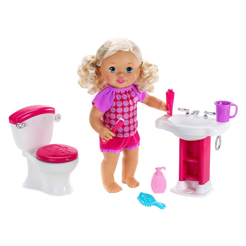Little Mommy - Bebita Interactiva Hora de Ir Al Baño