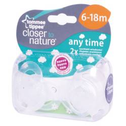 Tommee Tippee - Chupete CTN 6 a 18 Meses Blanco