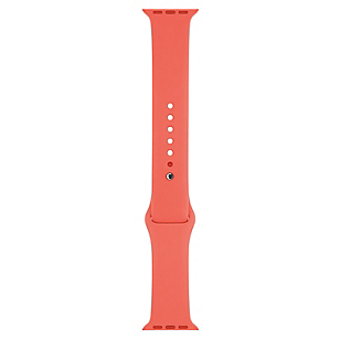 Pulsera Apple Watch 38mm Rosado Sport