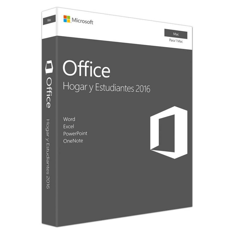 Microsoft - Office Hogar y Estudiantes para MAC (1 usuario - Perpetuo)