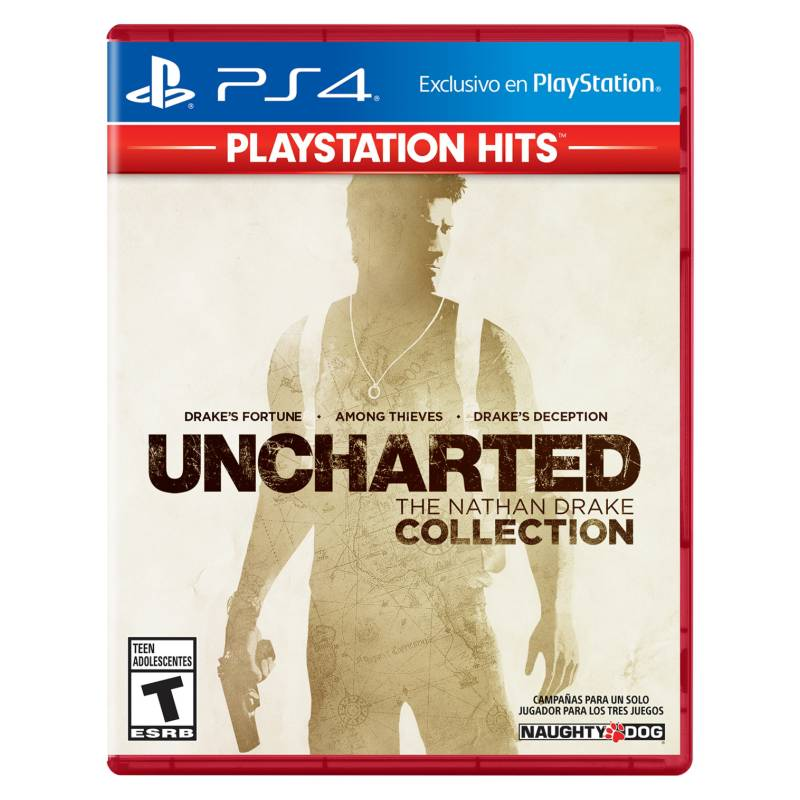 PLAYSTATION - Uncharted Collection PS4