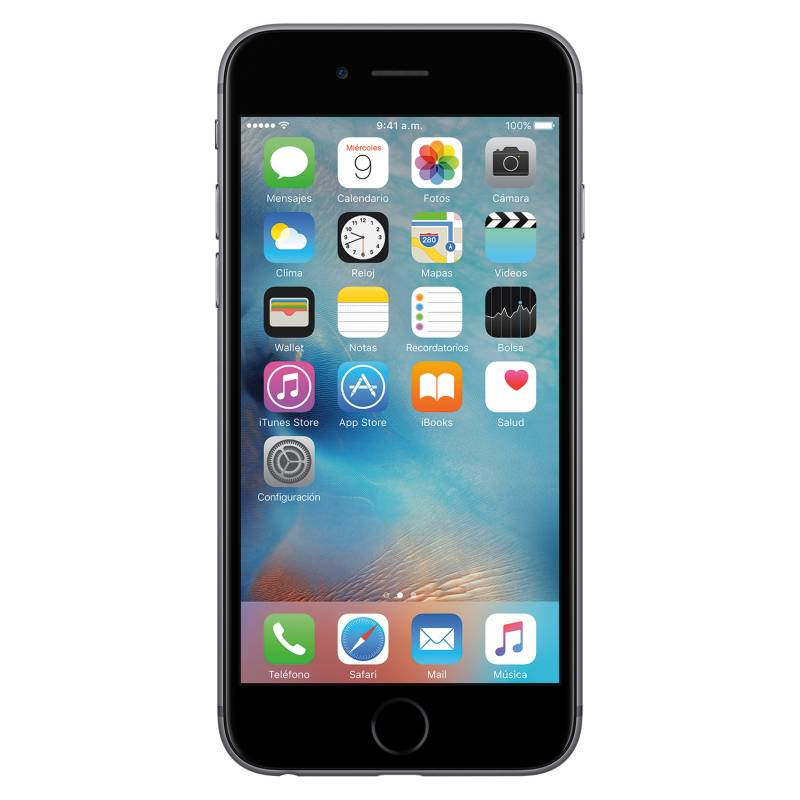 Apple - iPhone 6S 64GB Space Gray Liberado.