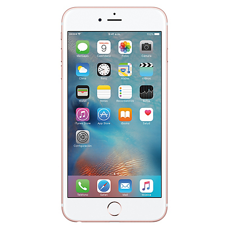 47e19252972 Apple iPhone 6S Plus 64GB Rose Gold Liberado - Falabella.com