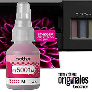 Tintas Brother BT5001 M Rojo