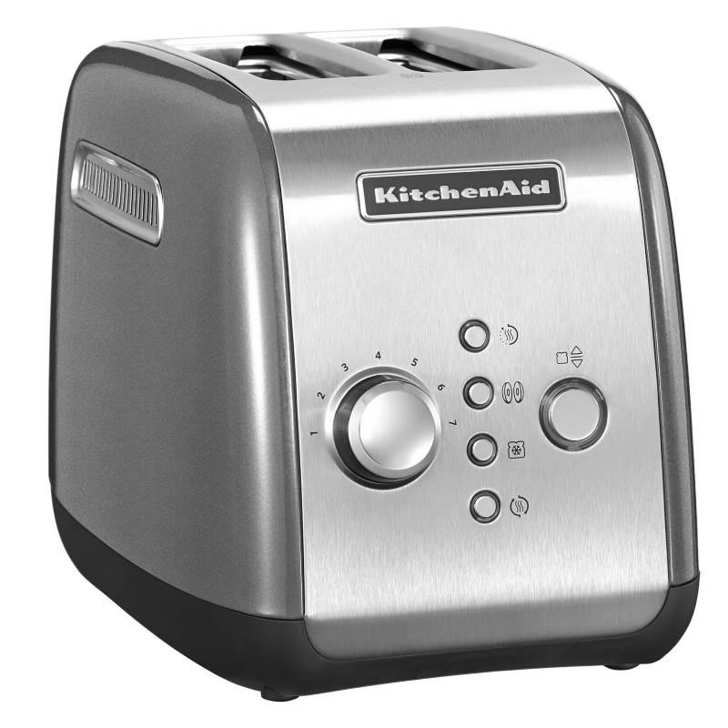 Kitchenaid - Tostador Automático Silver 2 Rebanadas