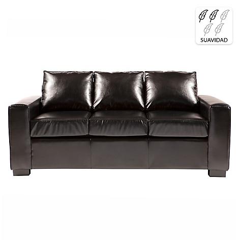 Divano sof 3 cuerpos karu pu 200 cm - Divano 200 cm ...