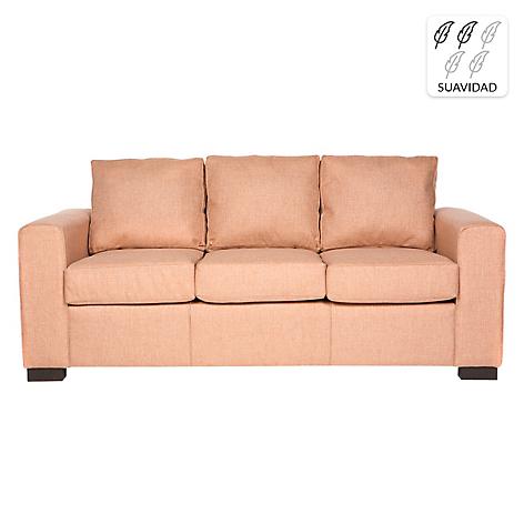 Divano sof 3 cuerpos karu tela 200 cm - Divano 200 cm ...
