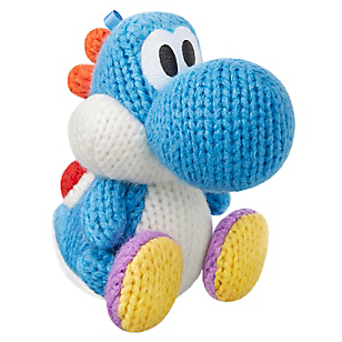 Amiibo Yarn Yoshi Light Blue
