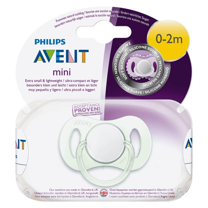 Avent - Chupete Mini 0-2 Meses Neutro