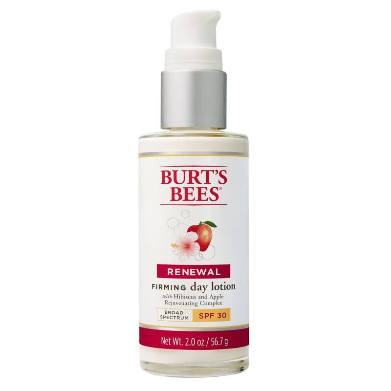 Burts Bees - Loción de Día Reafirmante con SPF 30 Renewal Firming 56,7 G