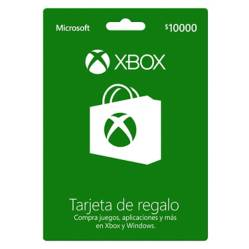 Microsoft - Tarjeta de Regalo Xbox 10.000