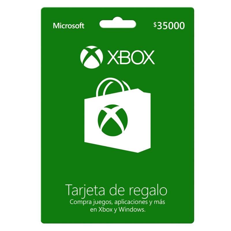 Microsoft - Tarjeta de Regalo Xbox 35.000