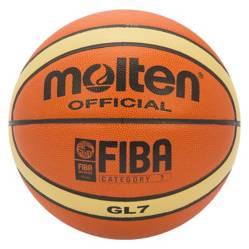 Mitre - Balón de Basketball GL7X Naranjo