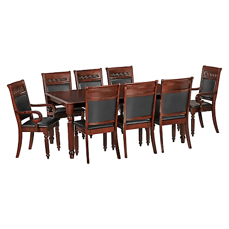 Cic juego comedor cordob s 6 sillas 2 sitiales for Juego de comedor de vidrio precios