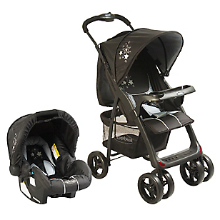 Coche Travel System Jazz 5216 Negro