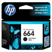Hp - Cartucho de tintas 664 Negro Original