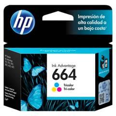 HP - Tintas Hp 664 Tricolor