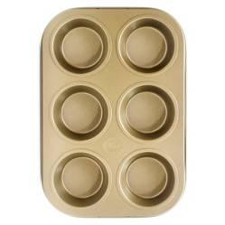 Molde Muffins Non Stick 6 Desing
