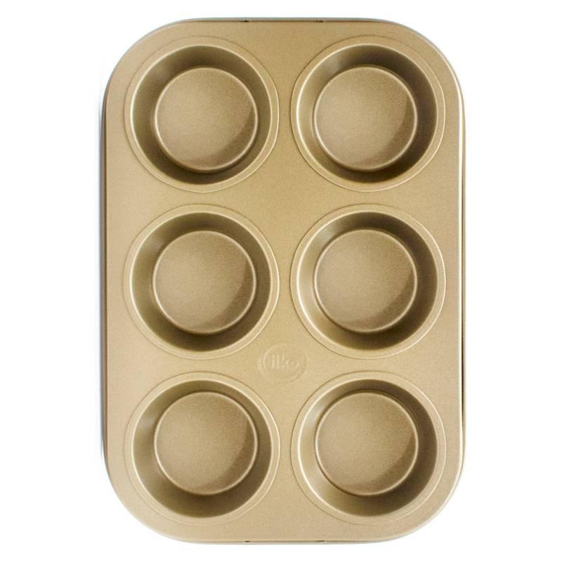 Ilko - Molde Muffins Non Stick 6 Desing