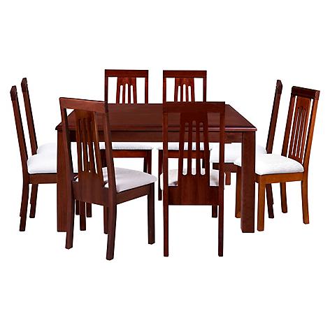 Rigal juego de comedor 8 sillas dali for Comedor 8 sillas chile
