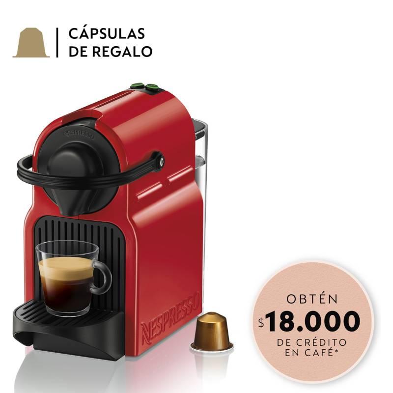 Nespresso - Cafetera Inissia C40 Roja