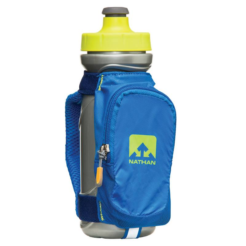 Nathan - Porta Botella para Mano Quick Draw Plus Azulino