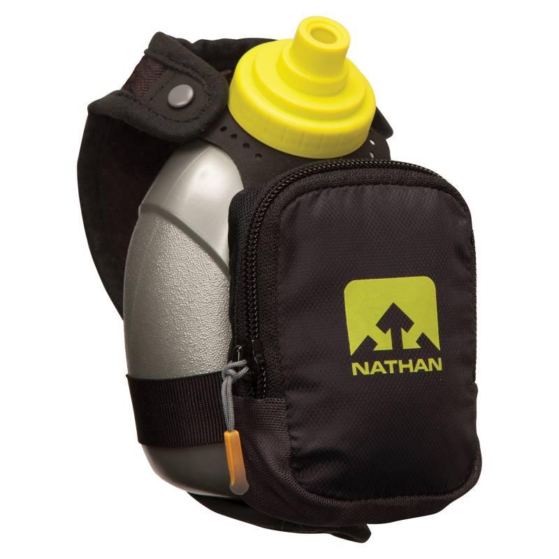 Nathan - Porta Botella para Mano Quickshot Plus Negra