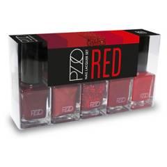 PETRIZZIO - Nail Lacquer Set Red 2