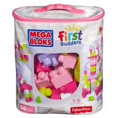 MEGA - Mega Bloks Gran Bolsa Rosa Para Construir