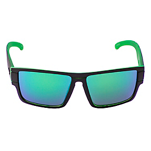 Anteojos de Sol Unisex Sublime Matt Black Green
