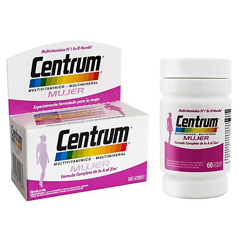 Centrum Vitaminas Centrum Mujer X 60 - Falabella.com