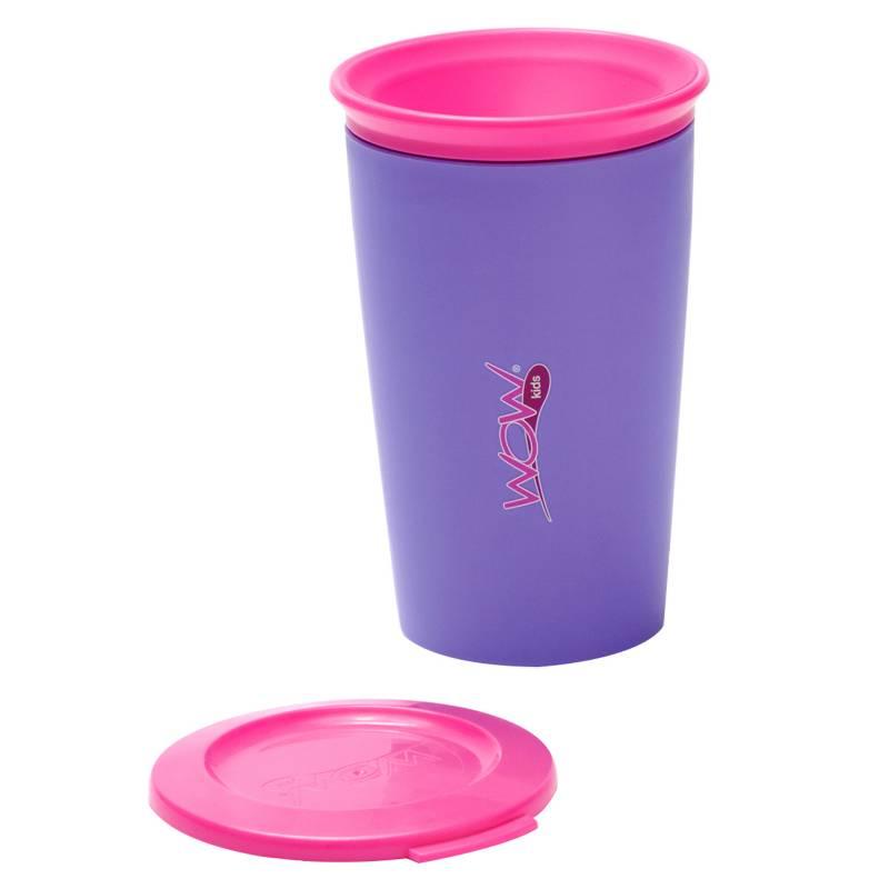 Wow Cup - Vaso Antiderrames Morado