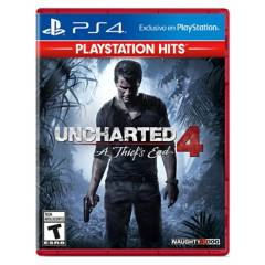 PLAYSTATION - Uncharted 4 - Stand Alone Ps4