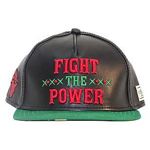 Gorro White Label Fight the Power