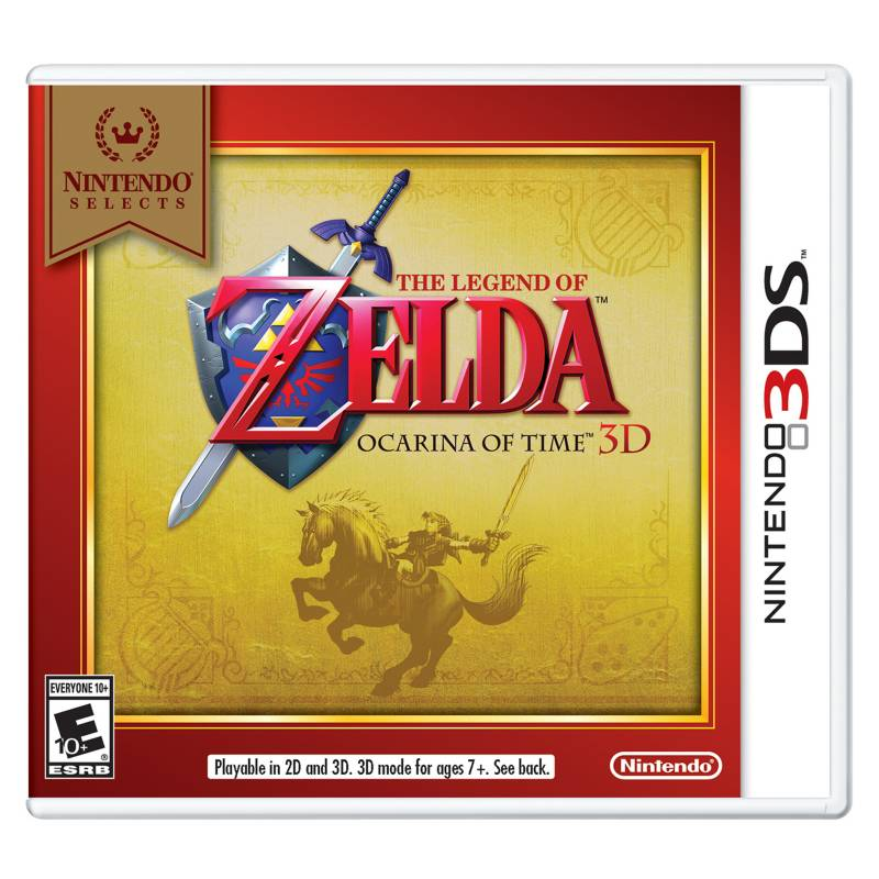 Nintendo - Zelda Ocarina Of Time 3D Nintendo 3DS