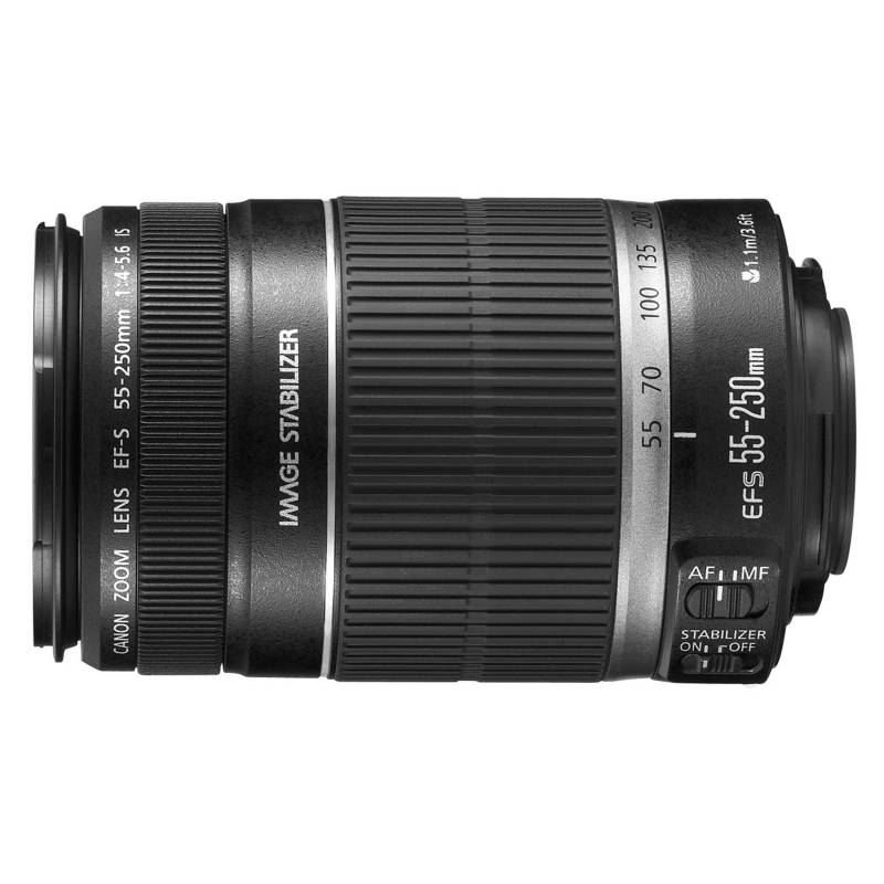 Canon - Lente EF-S 55-250 mm IS STM