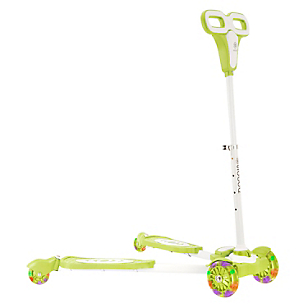 Scooter con Luces Verde