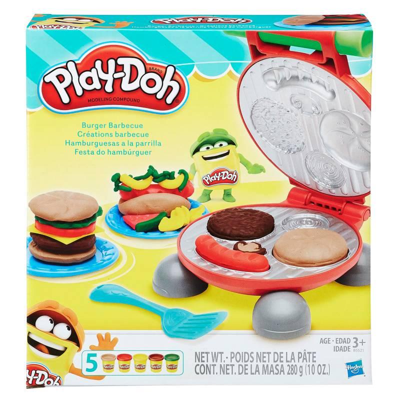 Play Doh - Hamburguesas a la Parrilla
