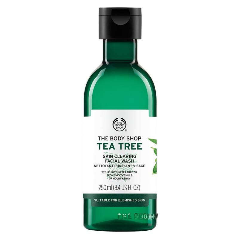 THE BODY SHOP - Limpiador Facial Tea Tree Face Wash 250 ml