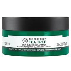The Body Shop - Máscara Facial de Arcilla Tea Tree Mask Face 100 ML