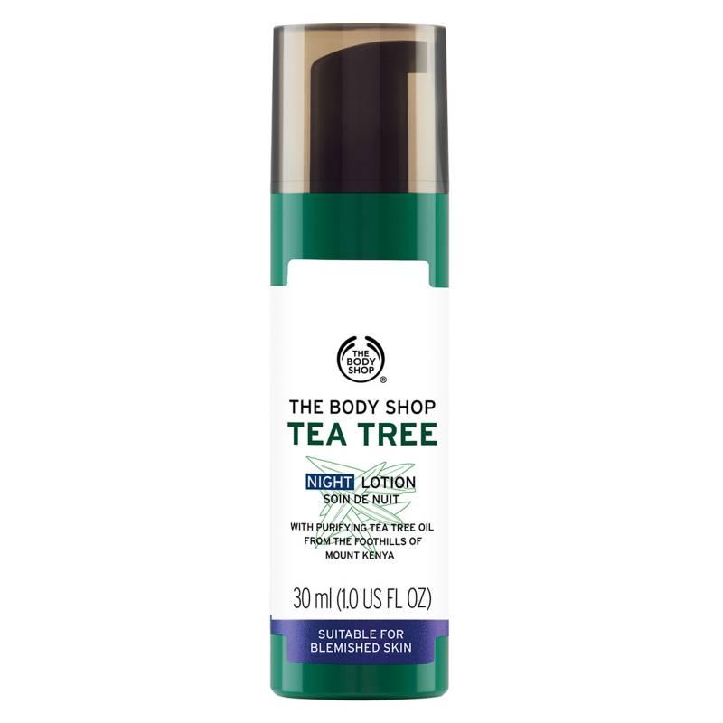 The Body Shop - Crema Noche Tea Tree Night Lotion 30 ML