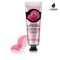 The Body Shop - Crema para Manos British Rose 30 ML