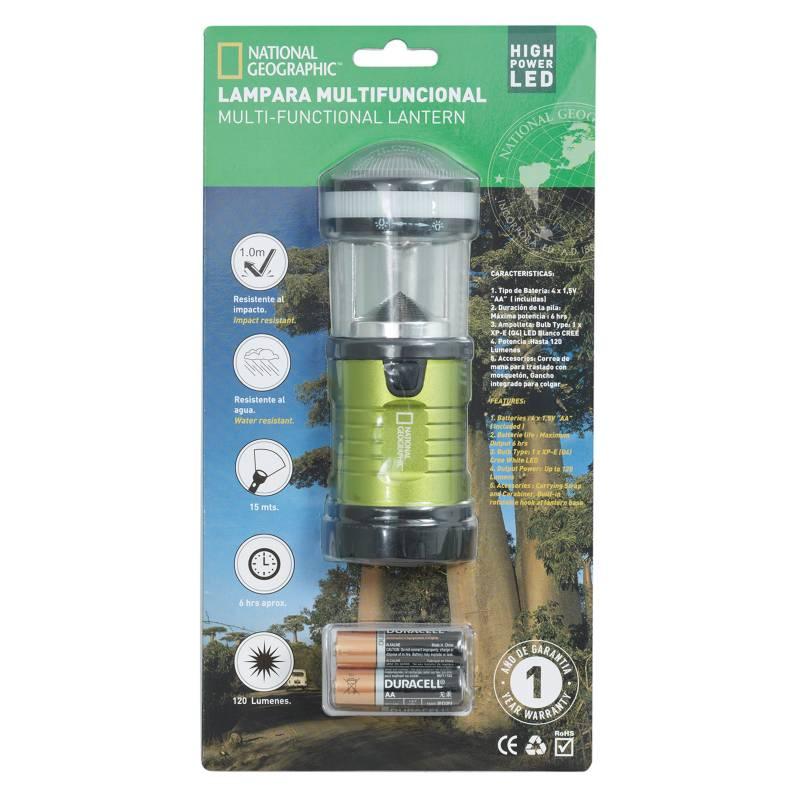 Nat Geo - Mini Lámpara Verde