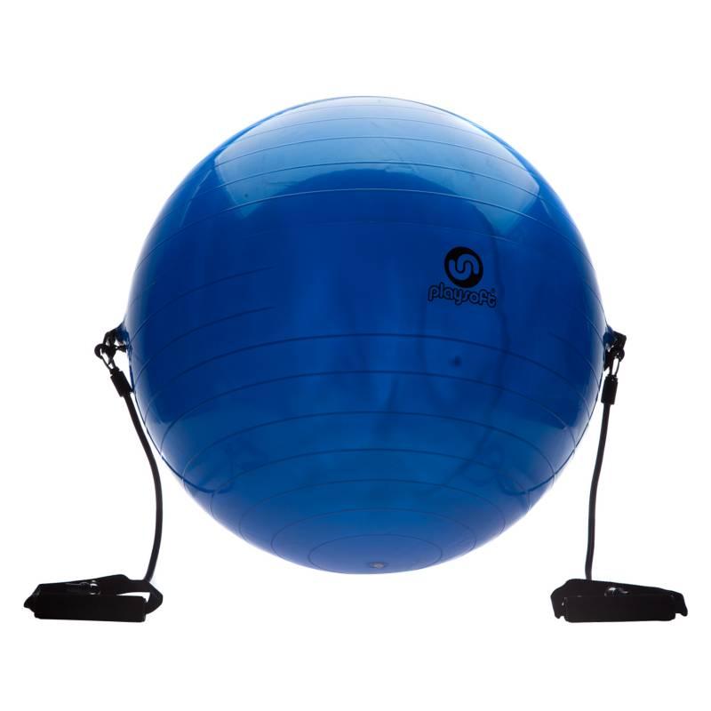 Barlosport - Pelota Pilates Con Correa 65 cm