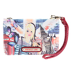 Billetera Clutch Crossbody London Girl PRT6037