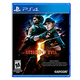 Juego Resident Evil 5 HD PS4