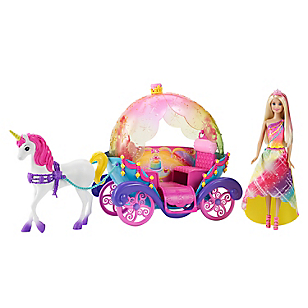 BARBIE REINO ARC PRIN CABALLO DPY38