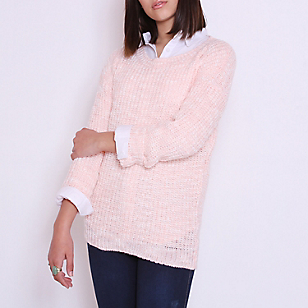 Sweater Cuello Redondo